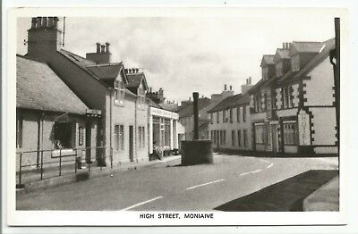 POSTCARDS-SCOTLAND-MONIAIVE-RP. The High Street.