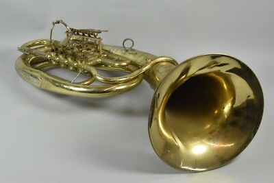 i06o06- Tenor Horn Messing, VMI Manufaktur
