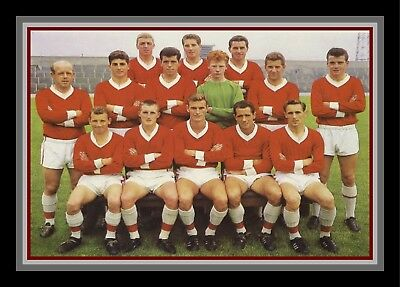 Collectors/Photograph/Print/7 x 5 Photo/Middlesbrough c1963 Team Photo