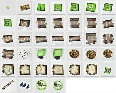 Games Workshop Space Hulk 1st Edition Spare & Replacement Parts