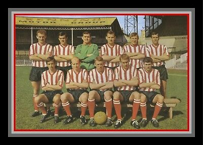 Collectors/Photograph/Print/7 x 5 Photo/Sheffield United c1963 Team Photo