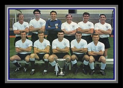 Collectors/Photograph/Print/7 x 5 Photo/Tottenham Hotspur c1963 Team Photo