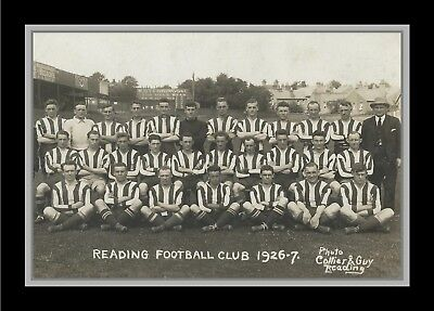 Collectors/Photograph/Print/7 x 5 Photo/Reading Team Photo 1926/27