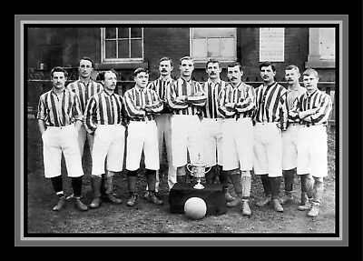 Collectors/Photograph/Print/7 x 5 Photo/West Bromwich/Brom 1892 FA Cup Winners