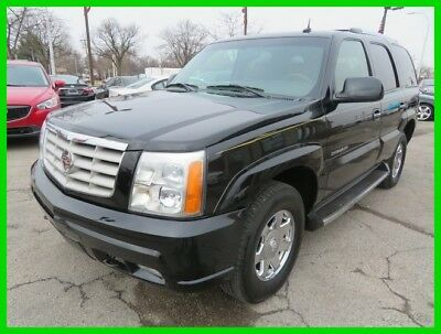 Cadillac Escalade  2003 Used 6L V8 16V Automatic AWD SUV OnStar Bose clean clear title carfax we