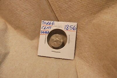 1856 Three Cent Piece Silver Coin