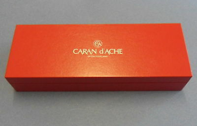 Caran  d'ache   Pen      Box          Red