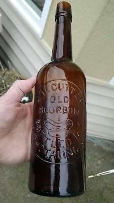 J.h. Cutter Old Bourbon A.p. Hotaling & Co. Crown Slug Plate Pre Pro Whiskey