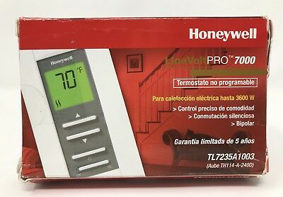 Honeywell TL8230A1003 LineVolt Pro 7000 Electronic Programmable Line Voltage