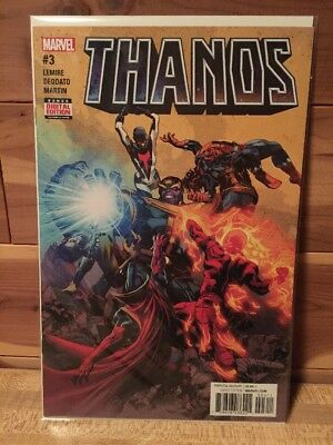 Thanos 3 First Printing, Lemire Deodato, NM Sold Out 2017 Series As 13