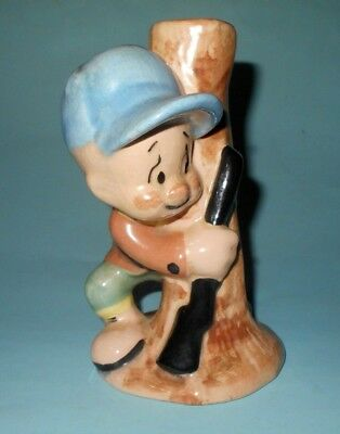 1940-50s Shaw Pottery Warner Brothers Elmer Fudd Ceramic Figure