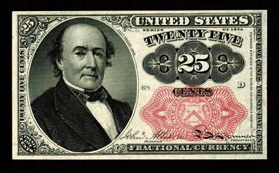 Fr. 1309 25¢ cent Fifth Issue Fractional Currency **MORE CURRENCY FOR SALE**