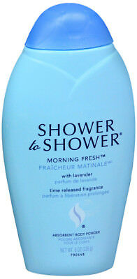 Shower to Shower Morning Fresh Absorbent Body Powder 8 Ounce