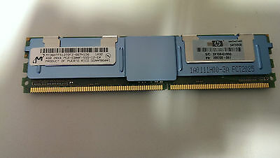 HP 16GB RAM ( 4 x 4GB ) DL380 G5 FB DIMM 466436-061 398708-061 PC2-5300F