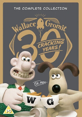 Wallace and Gromit: The Complete Collection - 20th Anniversary DVD (2009) Nick