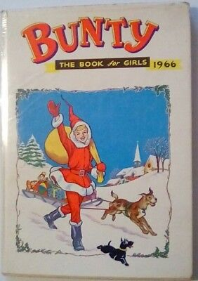 Bunty Book For Girls 1966. Very Good Condition.