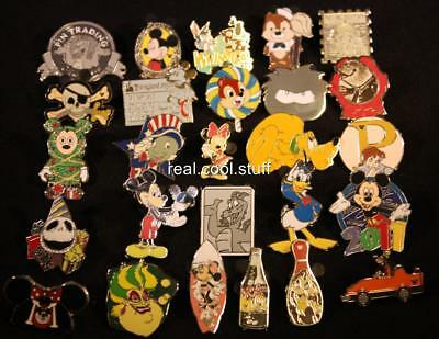 Disney Pin Lot 50 Random - No Duplicates - 100% Disney - FREE US Ship - F