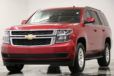 Chevrolet Tahoe LS 4WD Crystal Red Tintcoat SUV For Sale 4X4 Used Bluetooth Remote Start Bluetooth 8 Passenger Seats 16 17 2016 15 Like New