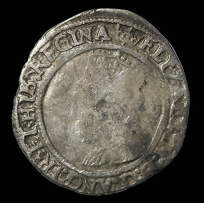 Elizabeth I House Of Tudor 1567 AD Great Britain Silver Tower Threepence S.2566