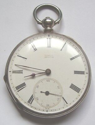 Antique Silver Pocket Watch Muret Geneve For Small Repair Hallmarked Fine Silver