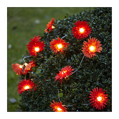 Ikea SOLVINDEN Decoration Flower 12 Pack Outdoor (Light Chain not included) NEW