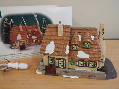 Dept 56 Dickens Village - The Christmas Carol Cottage (Revisited) Building Only