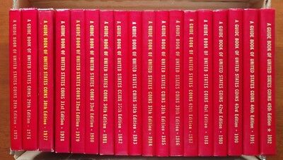 Yeoman Red Book United States Coins Lot (18) 1975-1992 Exceptional 1985 Error