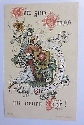 """"""" Nuovo Anno, Angelo, Gloria In Excelsis Deo """" 1911 (54008)"""