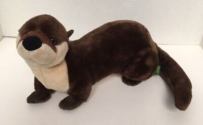 "Wild Republic RIVER OTTER 12"" Plush K&M Realistic Stuffed Animal"