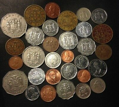 Old Jamaica Coin Lot - 1938-Present - 31 Great Coins - Lot #A17