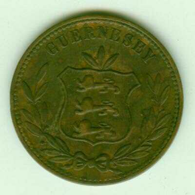 Guernsey 1868 8 Doubles-Lot F1