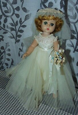 Vintage MADAME ALEXANDER Doll LISSY Tagged Outfit BRIDE