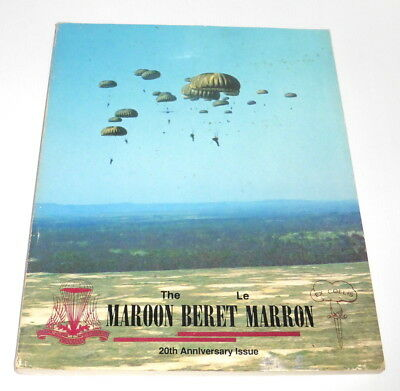 Canada ,The Maroon Beret ,20th Anniversary Issue Booklet