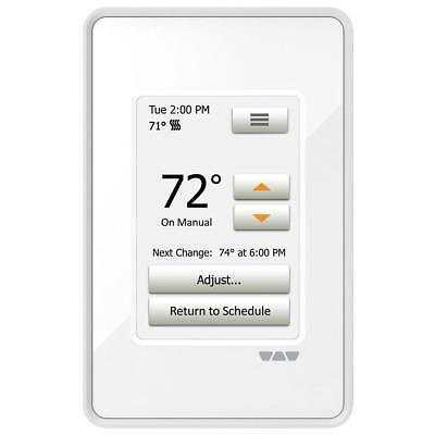Schluter DHERSD/BW Ditra Heat Programmable Thermostat Bright White