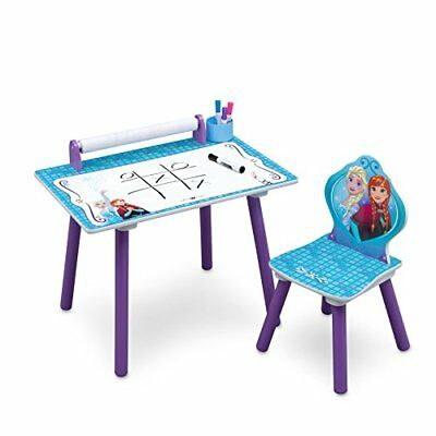 Activity Desk With Paper Roll Frozen Bed Blue