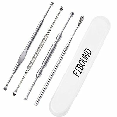 Ear Wax Removal By Fibound, Stainless Steel Ear Pick, Earwax Removal With Storag
