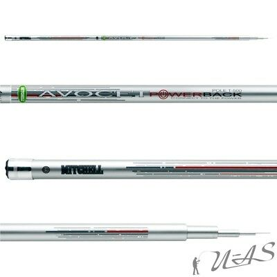 Mitchell Avocet Powerback T 5,00M Pole Rod 24T-High Carbon Tele Stippe Stipprute