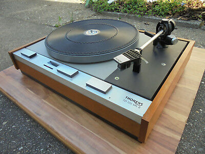 Thorens TD 125 MK II with manual   in serviced condition
