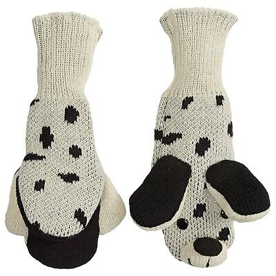 Mad Bomber Kid's Cozy Critter Puppy Dog Mittens  Nwt $18.00 List