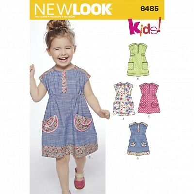 FREE UK P&P - New Look Ladies Easy Sewing Pattern 6803 Tunic Tops ...