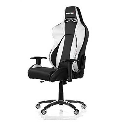 AKRacing Premium Series Luxury Gaming Chair - Silver