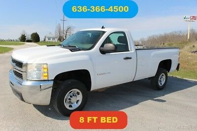Chevrolet Silverado 2500 Work Truck 2008 Work Truck Used 6L V8 16V Automatic RWD Pickup Truck OnStar 8 FT bed