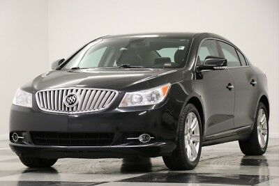 Buick Lacrosse Heated Leather Sunroof Carbon Black Metallic Sedan 2012 Heated Leather Sunroof Carbon Black Metallic Sedan Used 3.6L V6 24V FWD