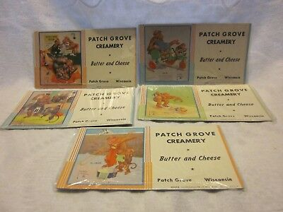 5 Pacth Grove Creamery Ink Blotters -- Patch Grove Wisconsin