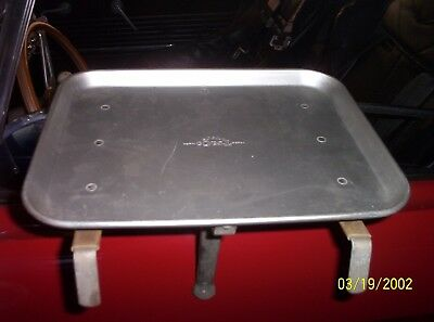 Vintage TraCo Aluminum Drive In Car Hop Window Service Food Tray