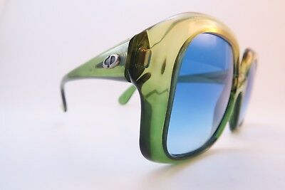Vintage late 60s early 70s Christian Dior sunglasses Germany 52-21 130 DEADLY **