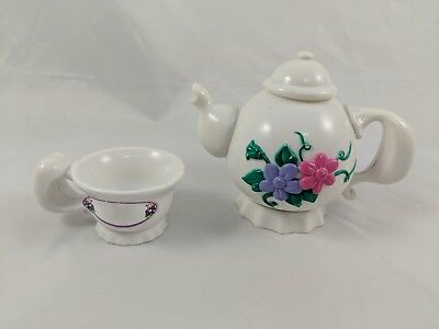 Playmates Amazing Ally Animated Doll Teapot & Tea Cup Set