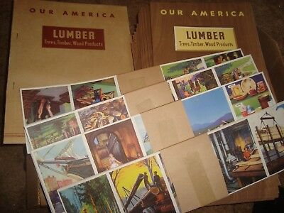 1943 Coca Cola Our America LUMBER classroom kit with posters 30 students
