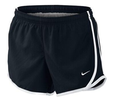 NIKE TEMPO GIRL'S Dri Fit Black RUNNING Soccer SHORTS SIZE SMALL 8 NWT
