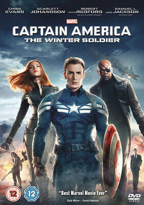 Captain America: The Winter Soldier Dvd New Region 2